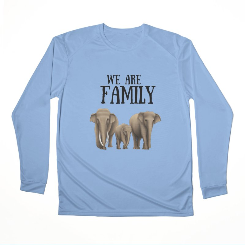 Troy Paulo - We Are Family Men's Longsleeve T-Shirt by Trunks & Leaves' Artist Shop