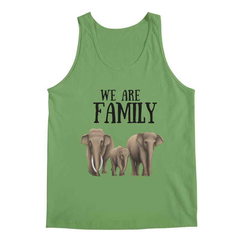 Troy Paulo - We Are Family Men's Tank by Trunks & Leaves' Artist Shop