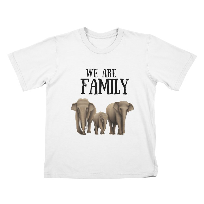 Troy Paulo - We Are Family Kids T-Shirt by Trunks & Leaves' Artist Shop