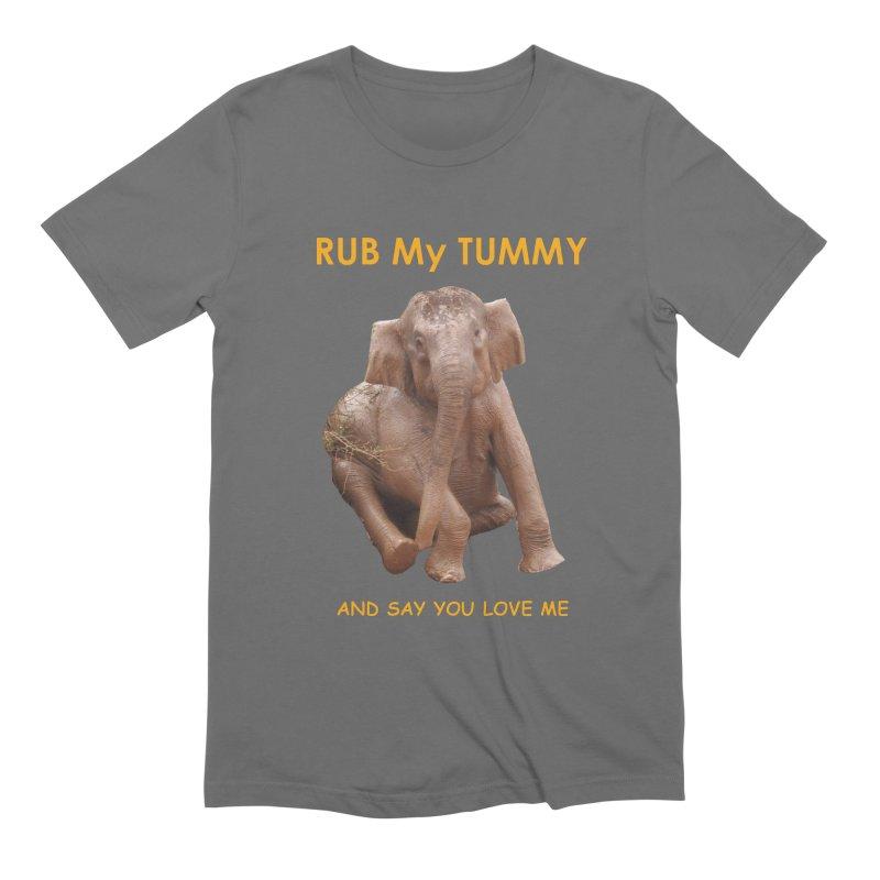 Tummy Love Men's T-Shirt by Trunks & Leaves' Artist Shop