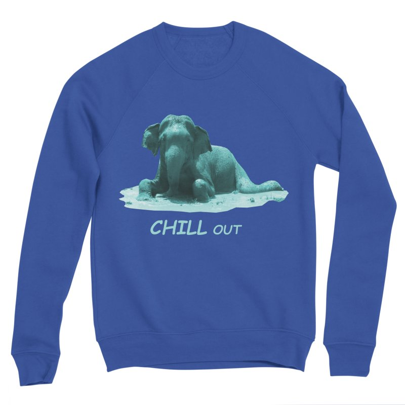 Chill Out Men's Sweatshirt by Trunks & Leaves' Artist Shop