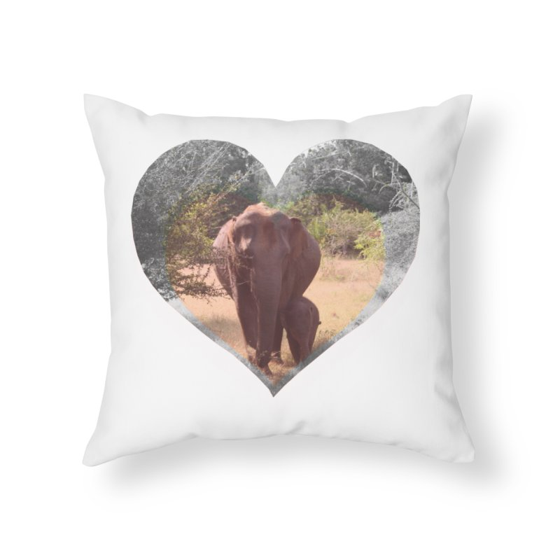 Mama Love Home Throw Pillow by Trunks & Leaves' Artist Shop