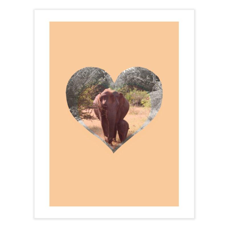 Mama Love Home Fine Art Print by Trunks & Leaves' Artist Shop