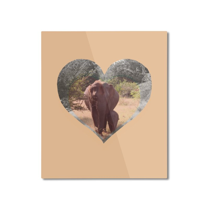 Mama Love Home Mounted Aluminum Print by Trunks & Leaves' Artist Shop