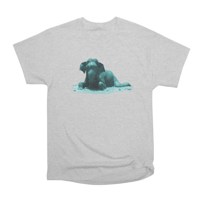 Lazy Boy Blue Men's T-Shirt by Trunks & Leaves' Artist Shop