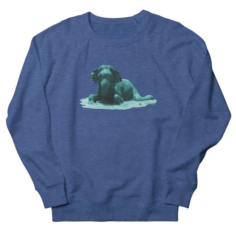 Lazy Boy Blue Women's Sweatshirt by Trunks & Leaves' Artist Shop