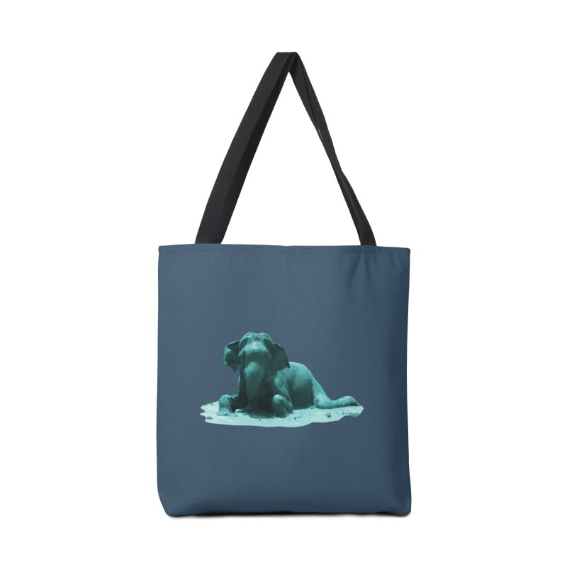 Lazy Boy Blue Accessories Bag by Trunks & Leaves' Artist Shop