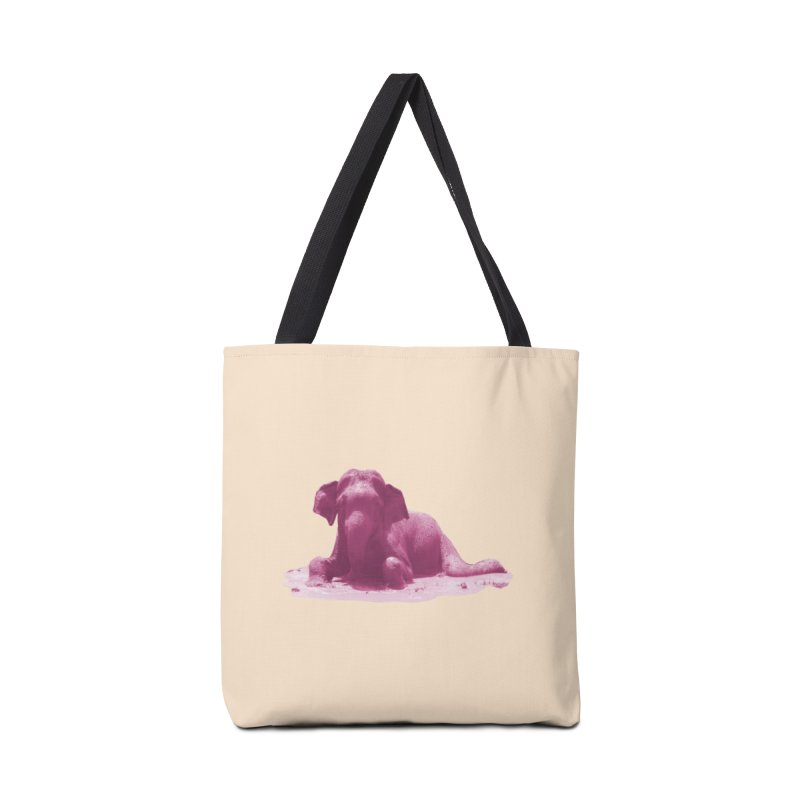 Lazy Boy Pink Accessories Bag by Trunks & Leaves' Artist Shop