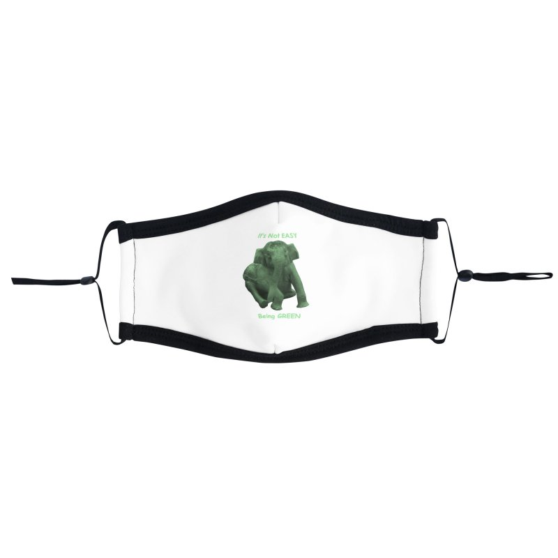 Being Green Accessories Face Mask by Trunks & Leaves' Artist Shop