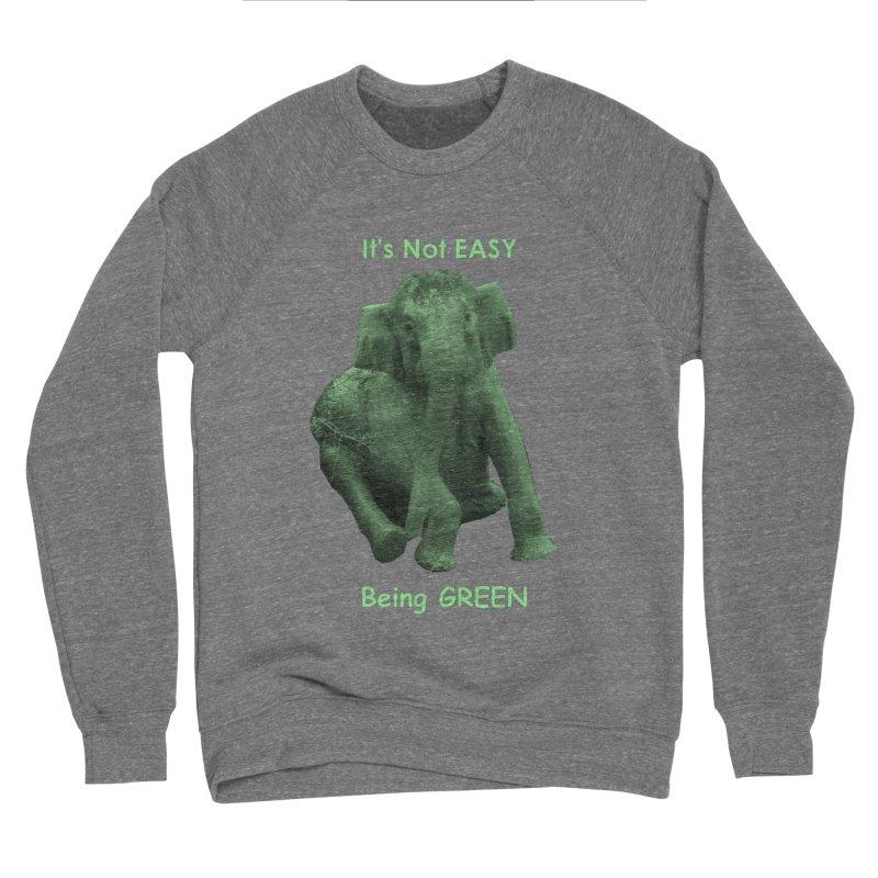 Being Green Men's Sweatshirt by Trunks & Leaves' Artist Shop