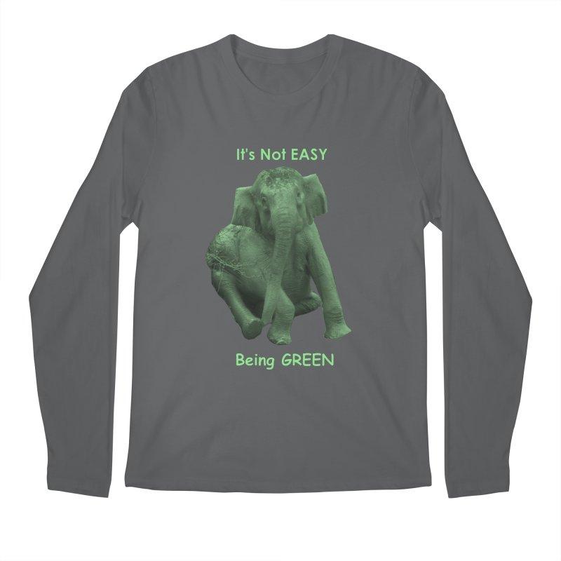 Being Green Men's Longsleeve T-Shirt by Trunks & Leaves' Artist Shop