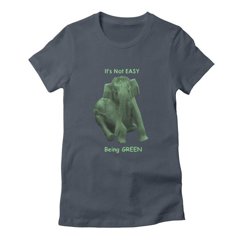 Being Green Women's T-Shirt by Trunks & Leaves' Artist Shop