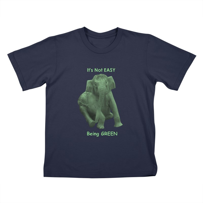 Being Green Kids T-Shirt by Trunks & Leaves' Artist Shop