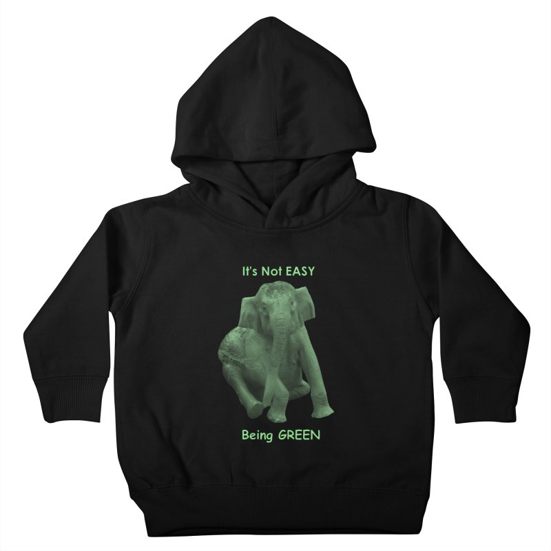 Being Green Kids Toddler Pullover Hoody by Trunks & Leaves' Artist Shop