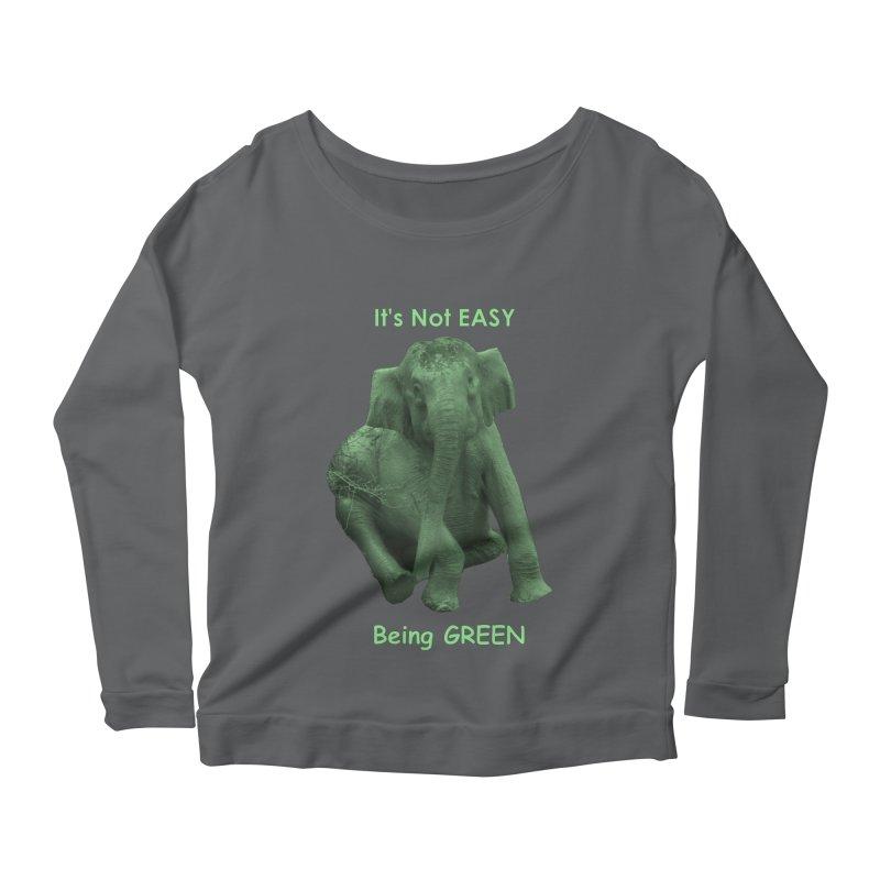 Being Green Women's Longsleeve T-Shirt by Trunks & Leaves' Artist Shop