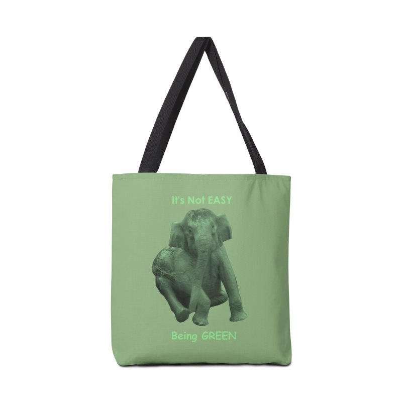 Being Green Accessories Bag by Trunks & Leaves' Artist Shop