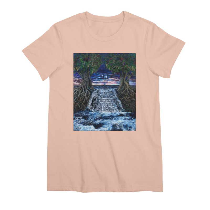 Hashem Gives Women's Premium T-Shirt by Elevated Space