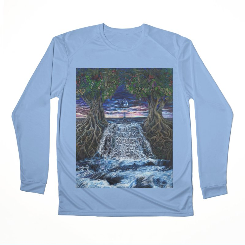 Hashem Gives Men's Performance Longsleeve T-Shirt by Elevated Space