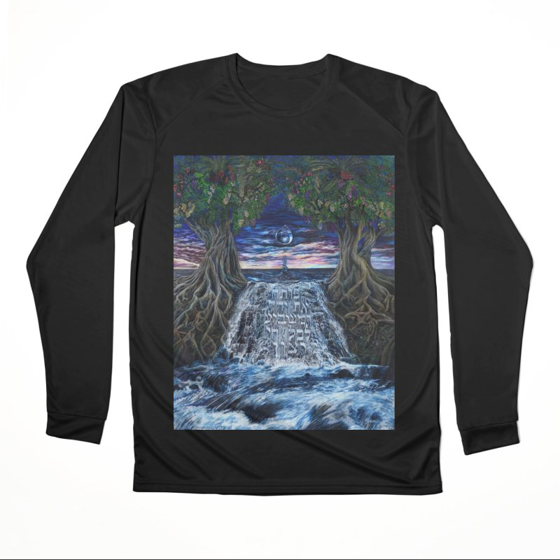 Hashem Gives Women's Performance Unisex Longsleeve T-Shirt by Elevated Space