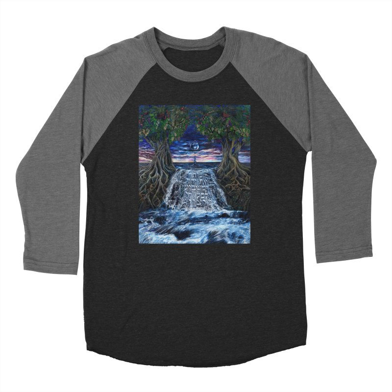 Hashem Gives Women's Baseball Triblend Longsleeve T-Shirt by Elevated Space