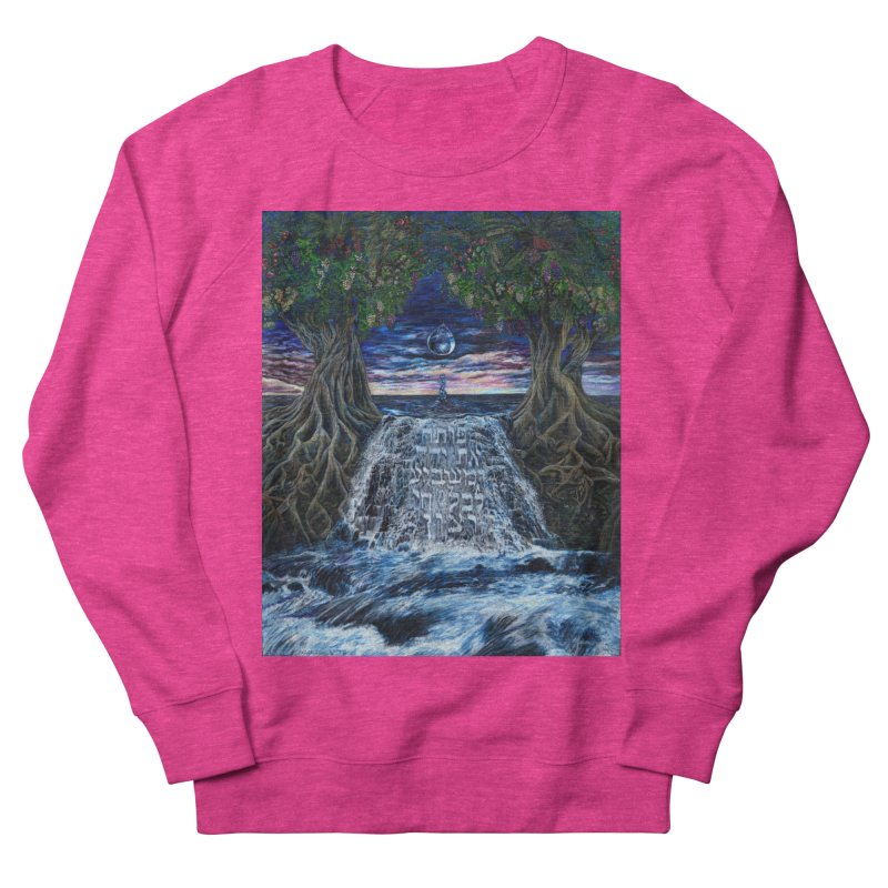 Hashem Gives Women's French Terry Sweatshirt by Elevated Space