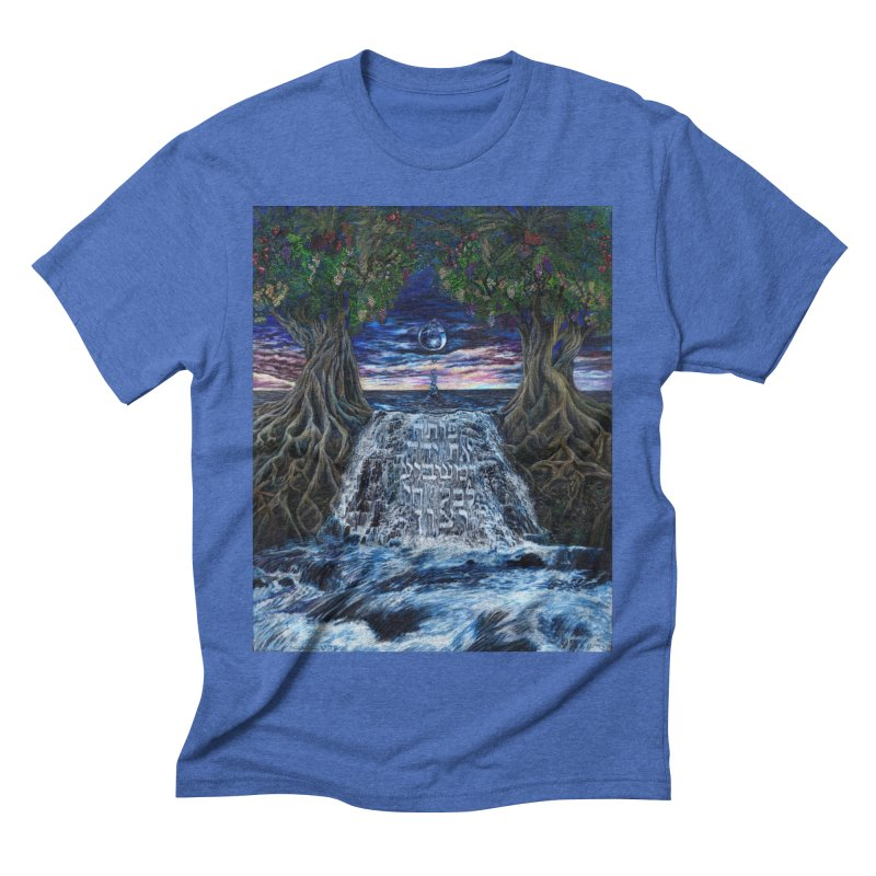 Hashem Gives Men's Triblend T-Shirt by Elevated Space