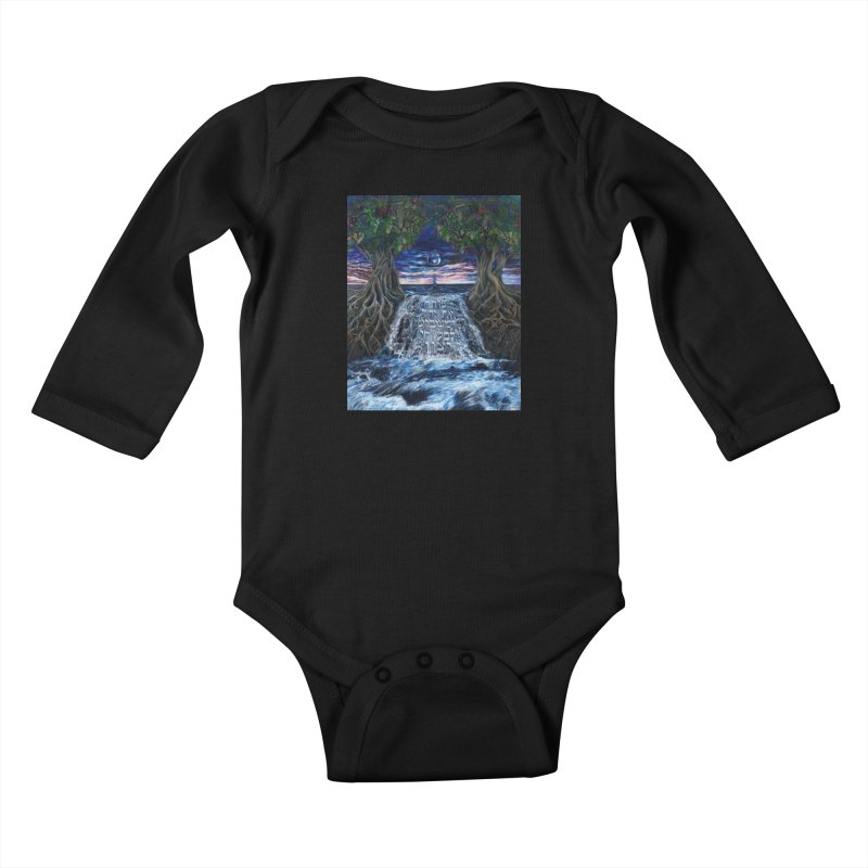 Hashem Gives Kids Baby Longsleeve Bodysuit by Elevated Space