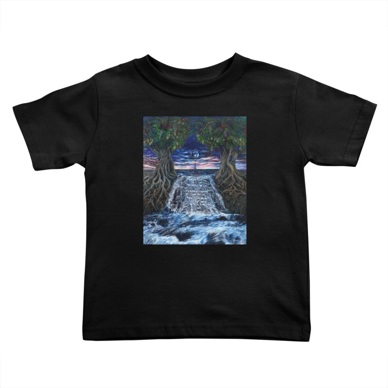Hashem Gives Kids Toddler T-Shirt by Elevated Space