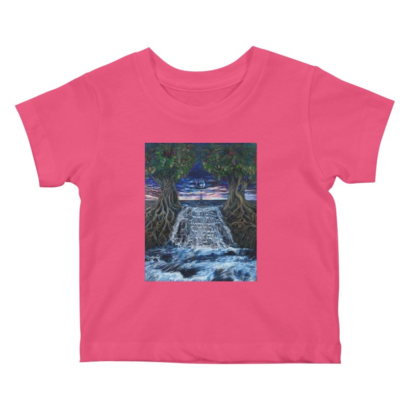 Hashem Gives Kids Baby T-Shirt by Elevated Space