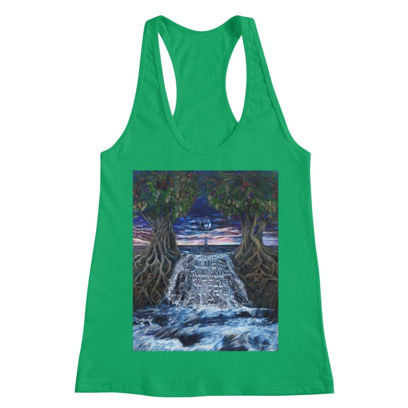 Hashem Gives Women's Racerback Tank by Elevated Space