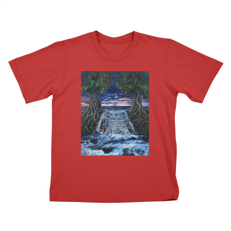 Hashem Gives Kids T-Shirt by Elevated Space