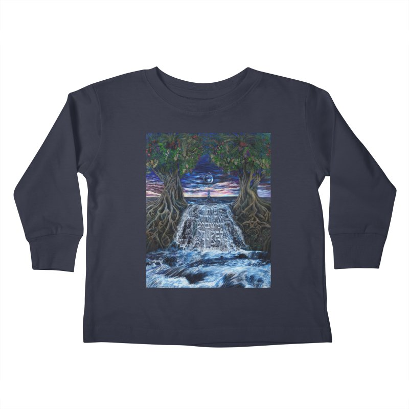 Hashem Gives Kids Toddler Longsleeve T-Shirt by Elevated Space