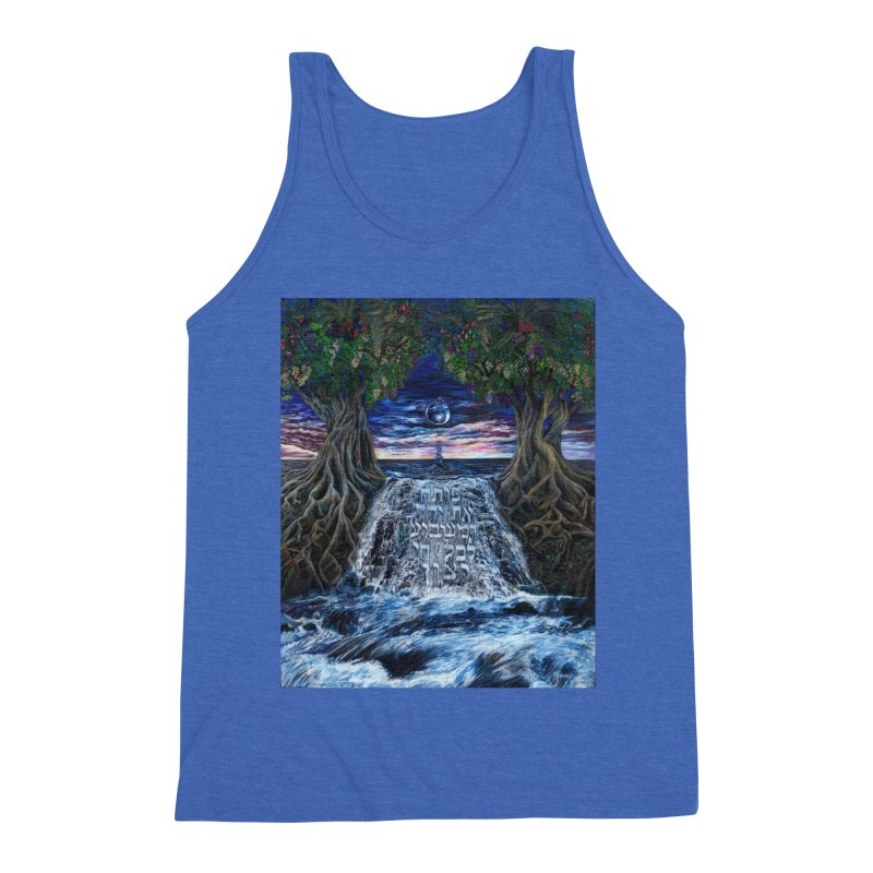 Hashem Gives Men's Triblend Tank by Elevated Space