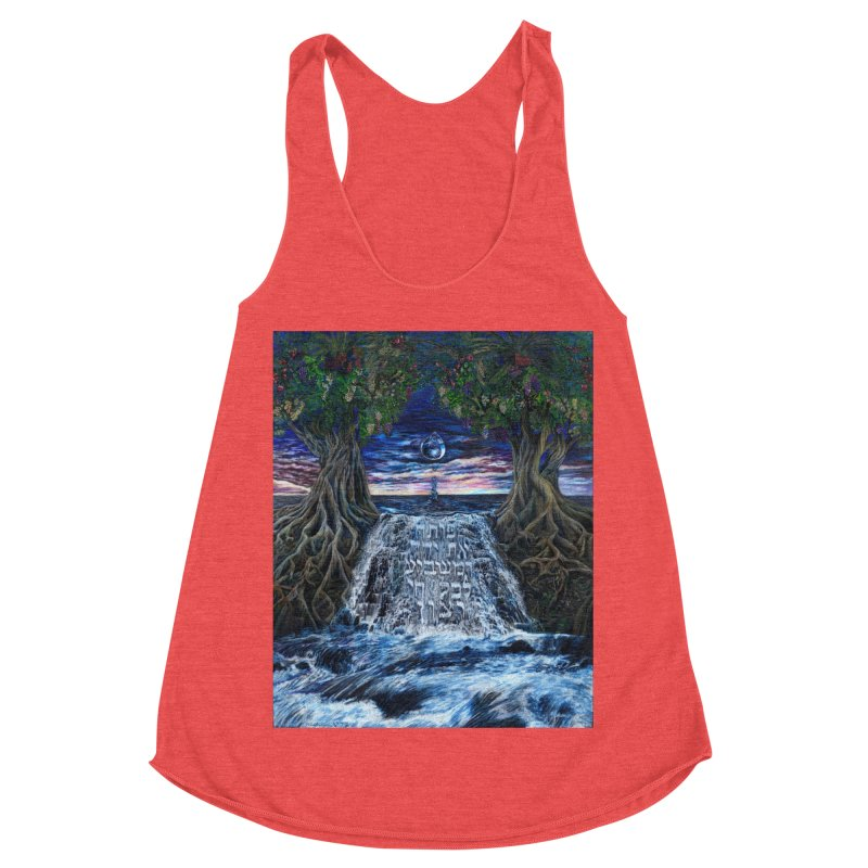Hashem Gives Women's Racerback Triblend Tank by Elevated Space