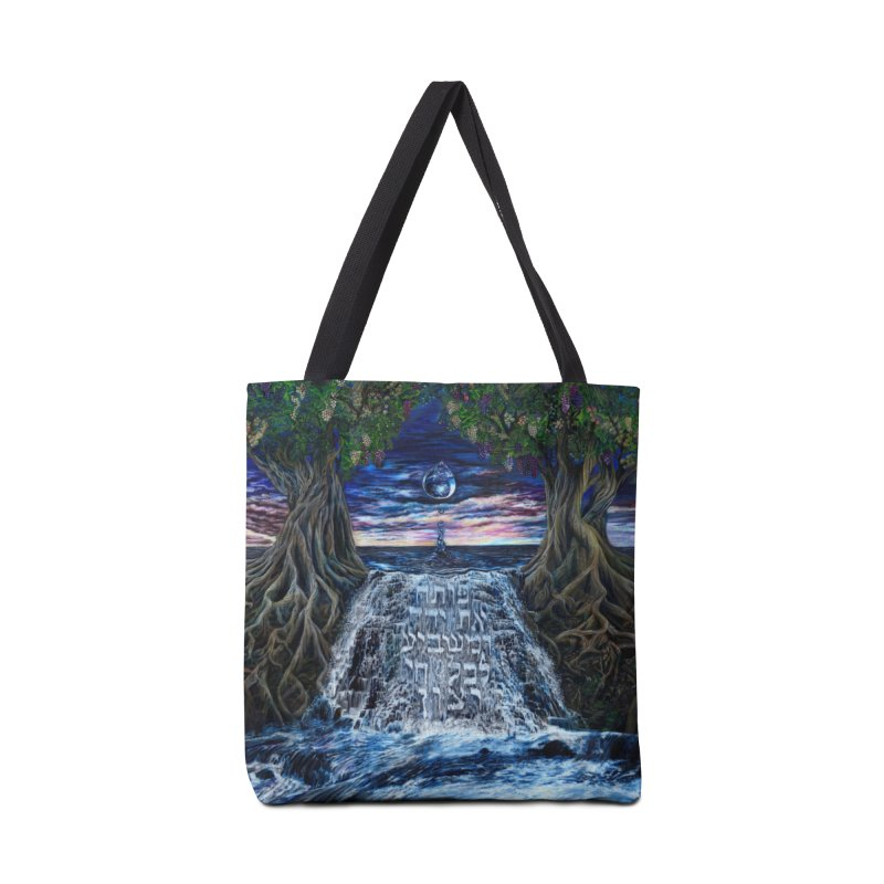 Hashem Gives Accessories Tote Bag Bag by Elevated Space