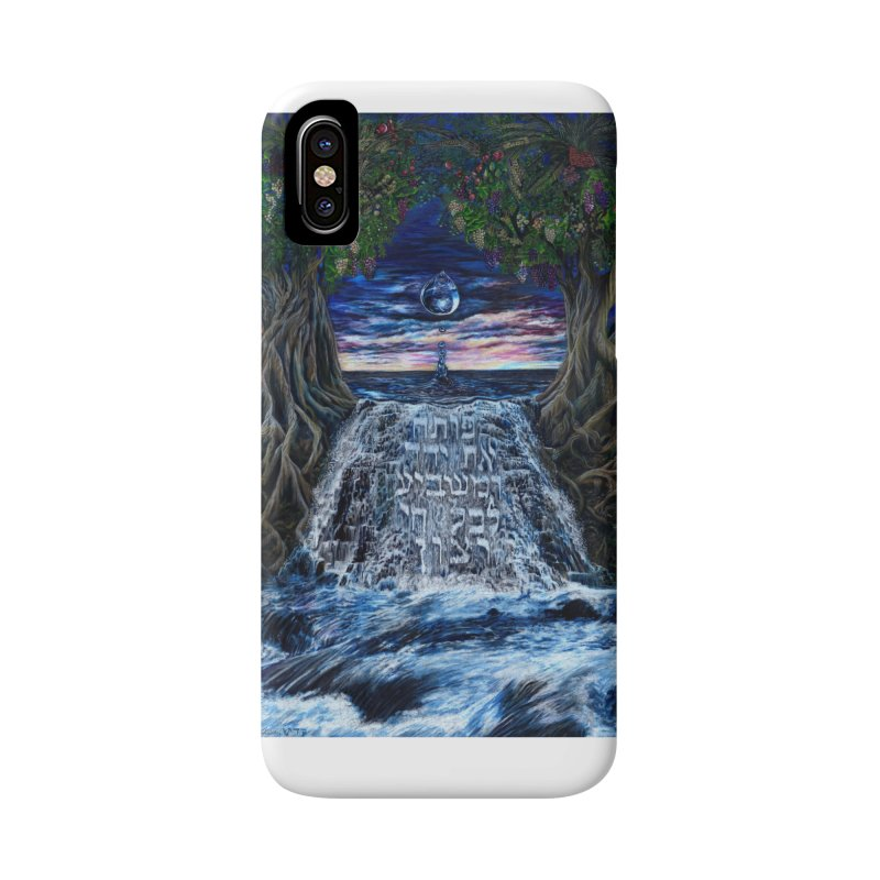 Hashem Gives Accessories Phone Case by Elevated Space