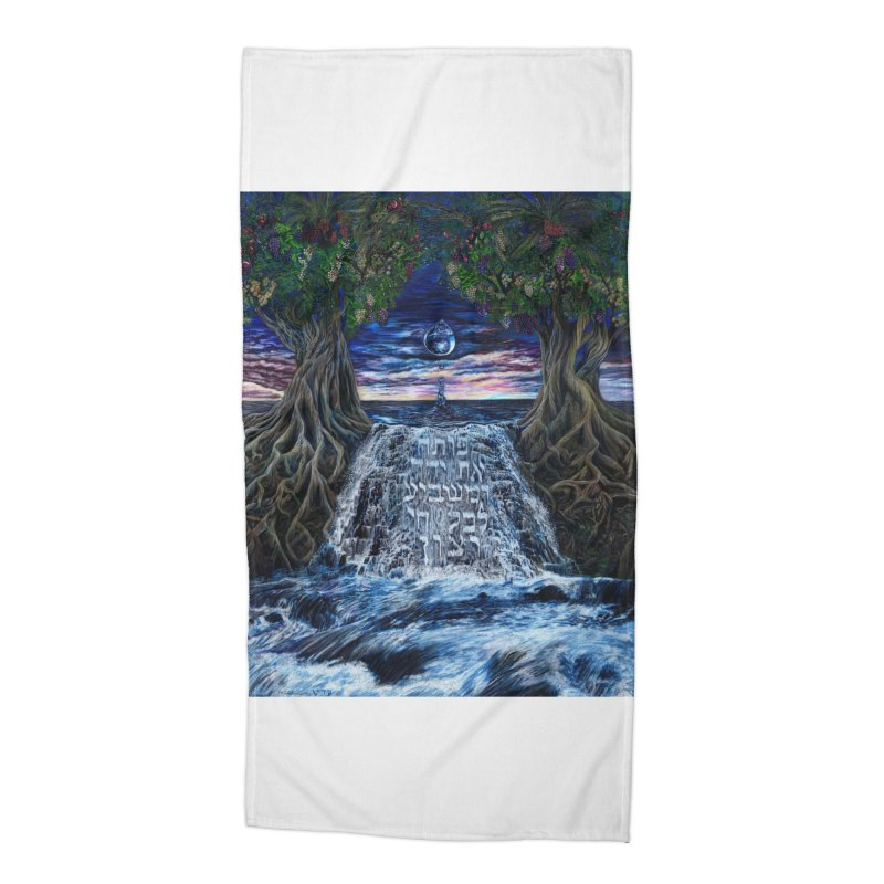 Hashem Gives Accessories Beach Towel by Elevated Space