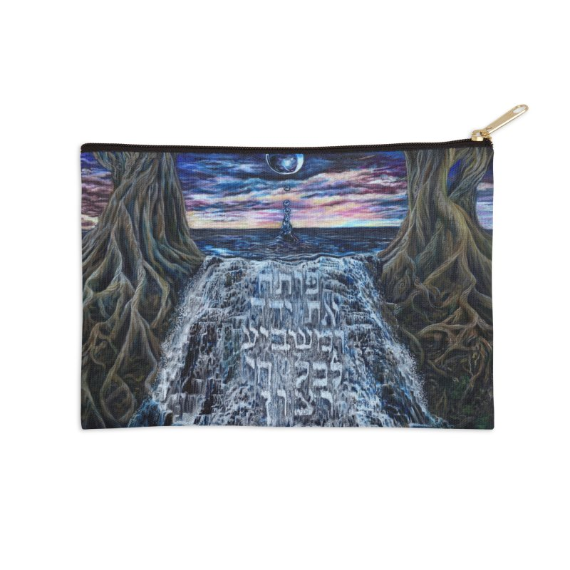 Hashem Gives Accessories Zip Pouch by Elevated Space
