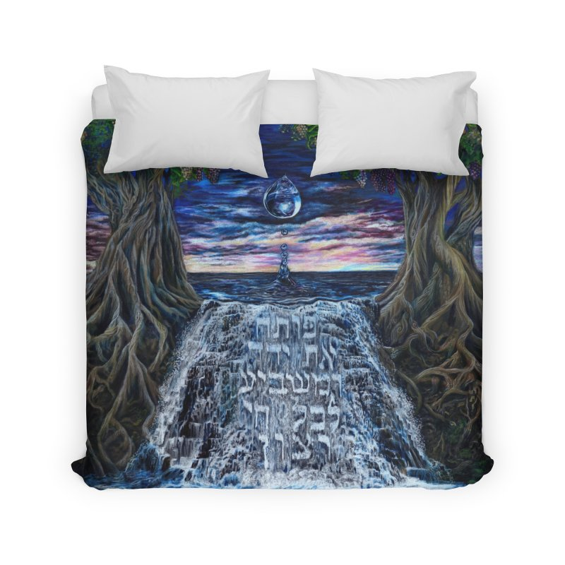 Hashem Gives Home Duvet by Elevated Space