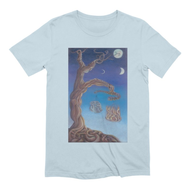 Balance of Fire and Water Men's Extra Soft T-Shirt by Elevated Space