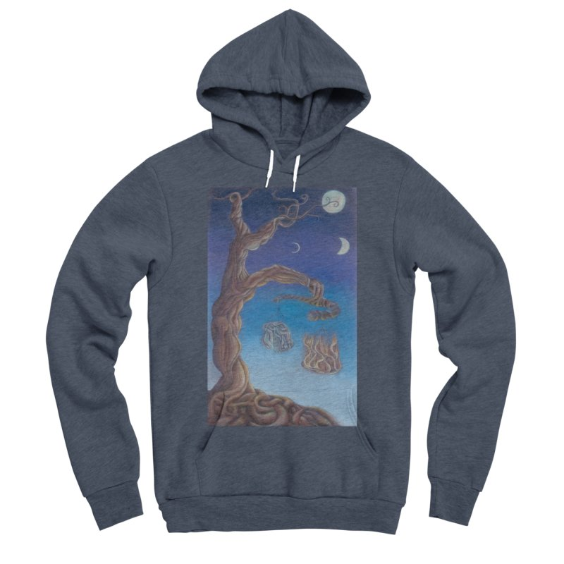 Balance of Fire and Water Men's Sponge Fleece Pullover Hoody by Elevated Space