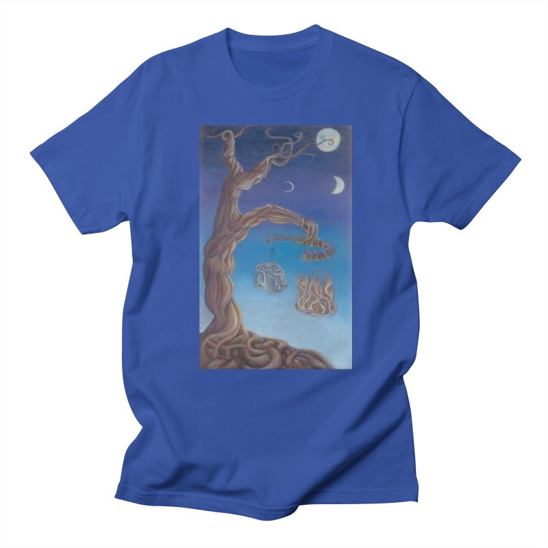 Balance of Fire and Water Men's Regular T-Shirt by Elevated Space