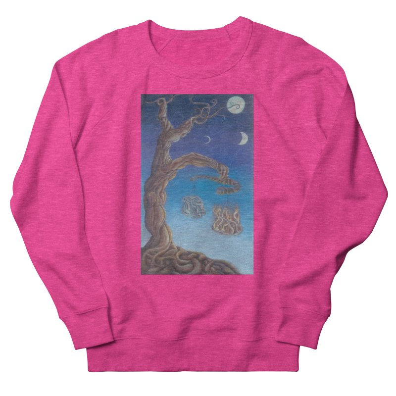 Balance of Fire and Water Men's French Terry Sweatshirt by Elevated Space