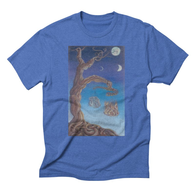 Balance of Fire and Water Men's Triblend T-Shirt by Elevated Space