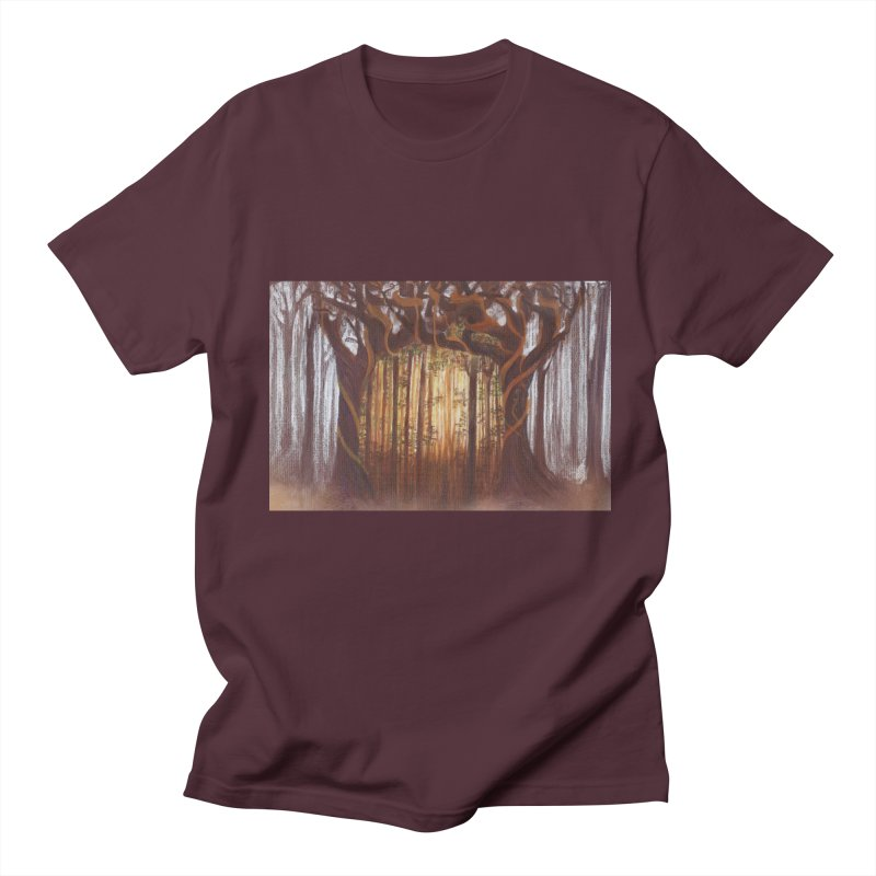 Winter And Spring Men's Regular T-Shirt by Elevated Space