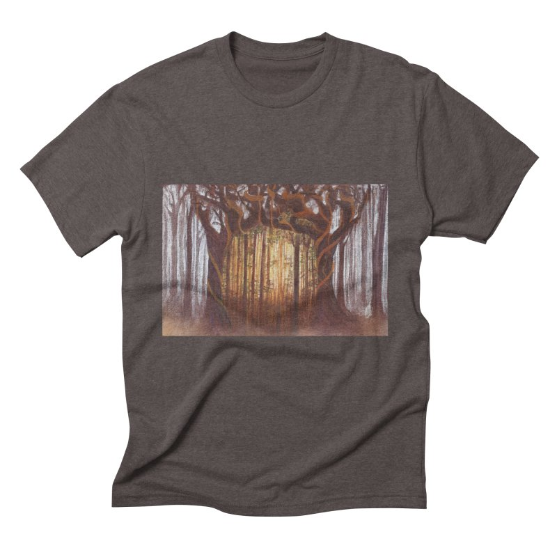 Winter And Spring Men's Triblend T-Shirt by Elevated Space