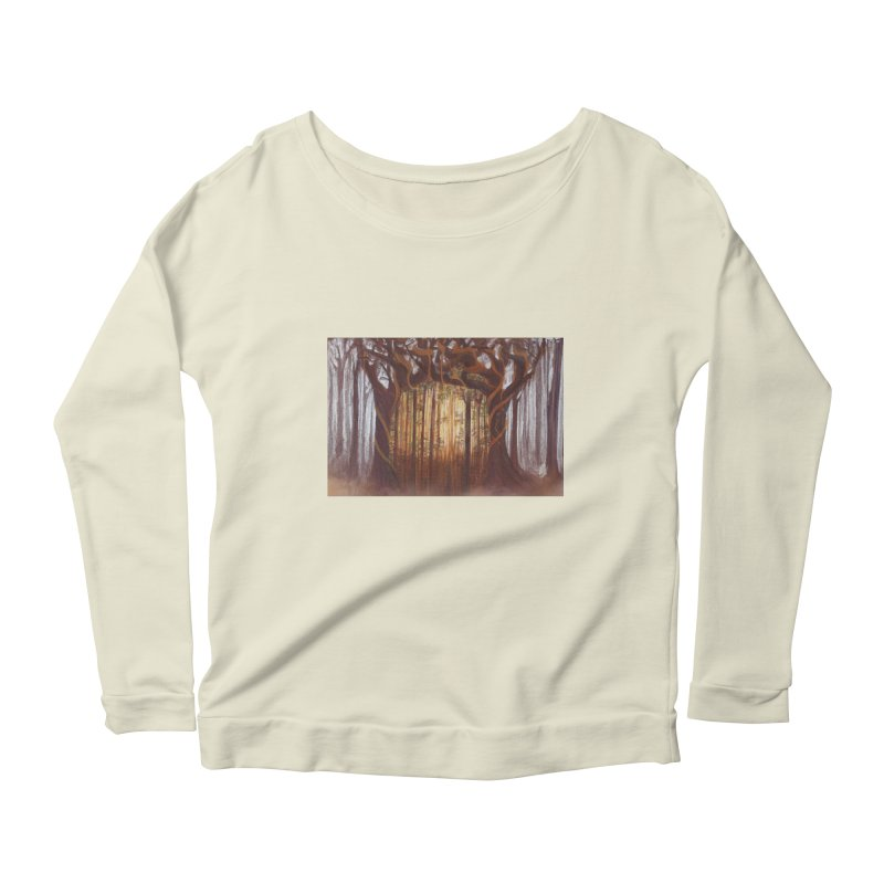 Winter And Spring Women's Scoop Neck Longsleeve T-Shirt by Elevated Space