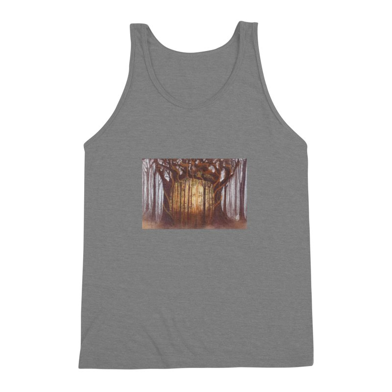 Winter And Spring Men's Triblend Tank by Elevated Space