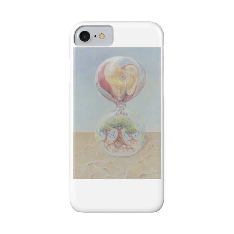 Apples Through Time in iPhone 8 Phone Case Slim by Elevated Space