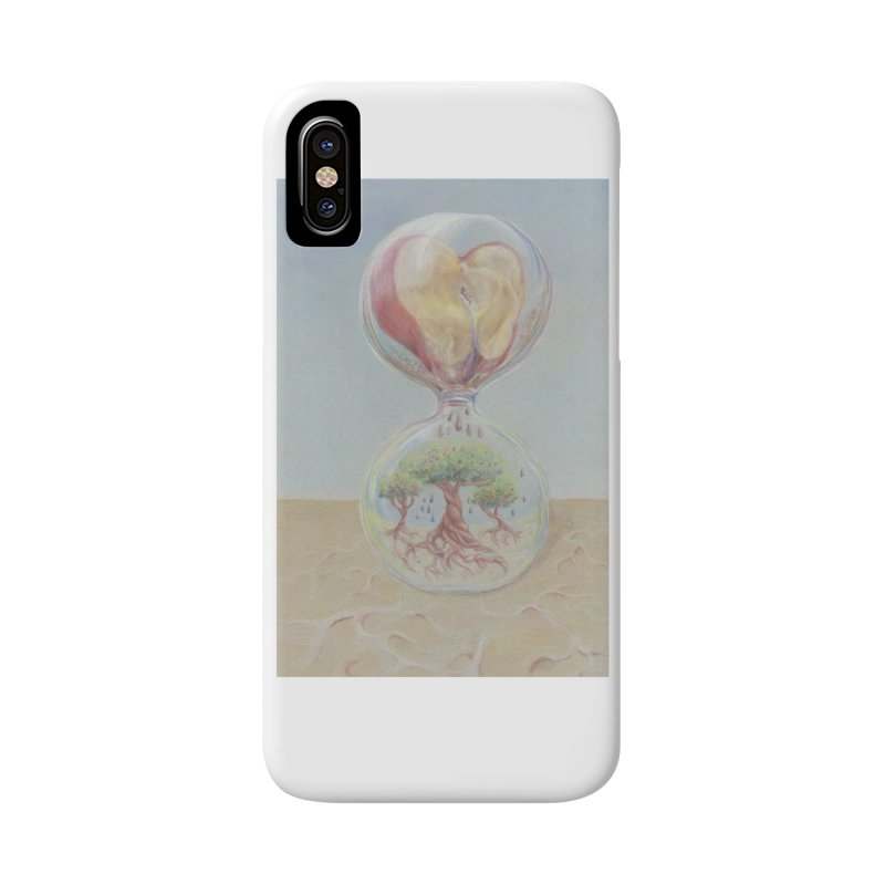 Apples Through Time in iPhone X / XS Phone Case Slim by Elevated Space